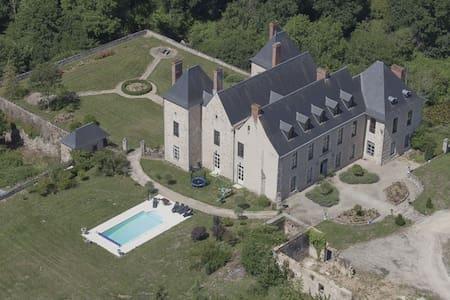 Beautiful restored private castle - Ménigoute - Castle