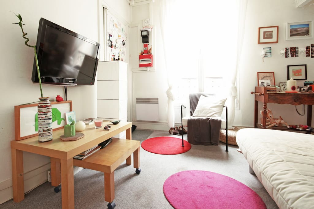 Charming Sunny Apartment Montmartre