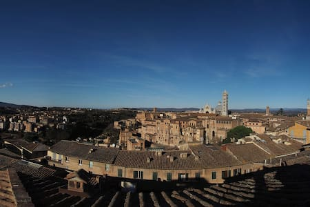 Live Siena from the very top - Siena