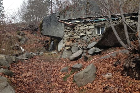 Rustic Stone Cabin - Cottage