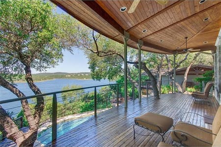 Lake Travis Lake Front Tree House - Hus