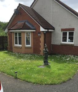 Double room with own personal bathroom in Fife - Bungalow