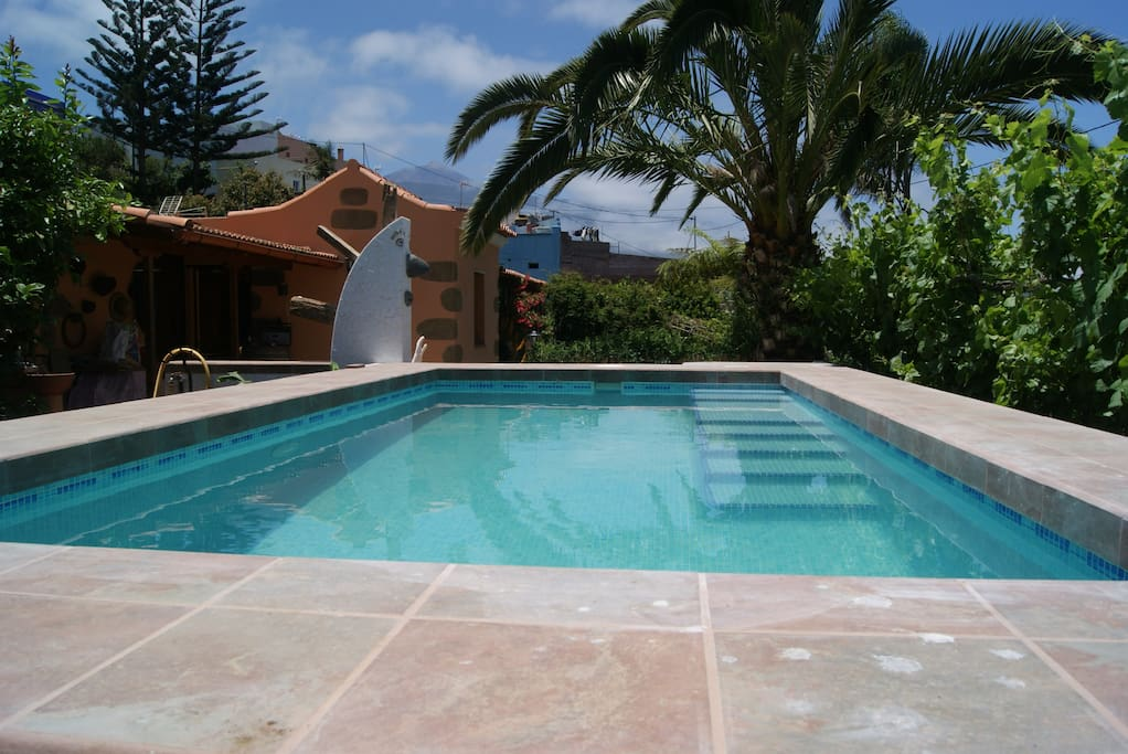 Private Pool to Teide Views