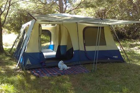 Cozy 3 bedroom Tent at Stoney Creek Eco Camping - Boolambayte