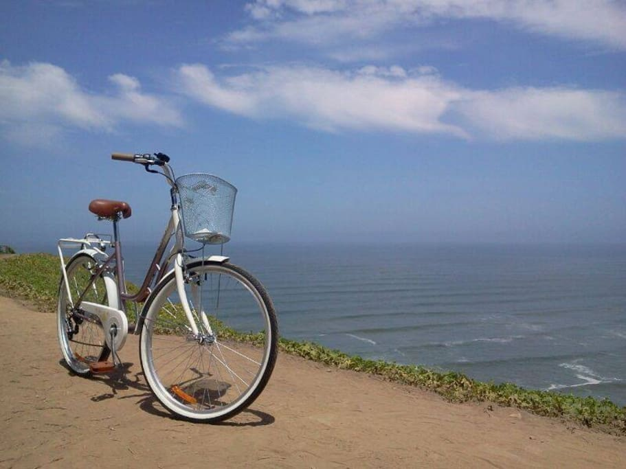 During your stay you get a bike to enjoy Lima!