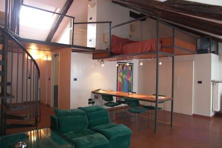 Loft su due piani in zona crocetta - Turín