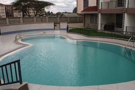 Nairobi Modern Apartment with Pool