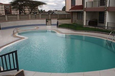 Nairobi Modern Apartment with Pool