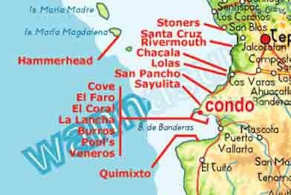 surf break map