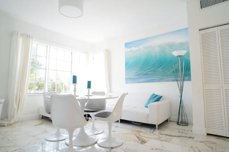 Design 1BR, 2mn Lincoln Beach - B - Miami Beach - Apartment