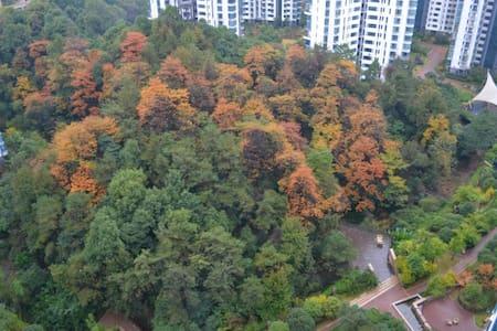 湘江畔,房间直面江景,原生密林环绕 - Apartament