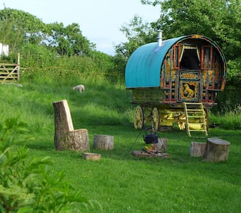 Gypsy Caravan in Somerset - Casa