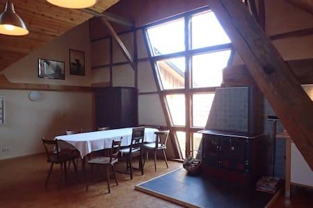Haferlhof-Landhaus in Drognitz - Entire Floor