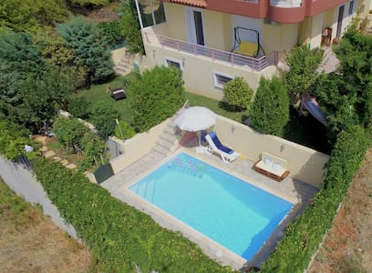 House with priv. pool near Athens airport and port - Atene - Villa