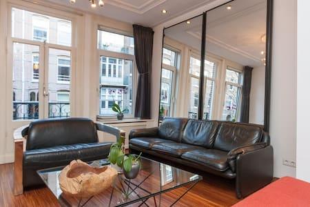 Design apt in centre Amsterdam.