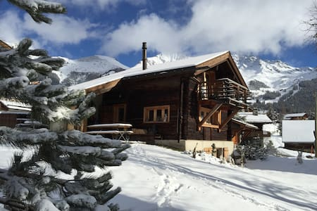 Old barn, Verbier