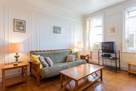 Sunny, spacious 1-bedroom apartment - New York