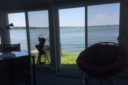 Lakefront Cottage - Shelbyville - Bungalou