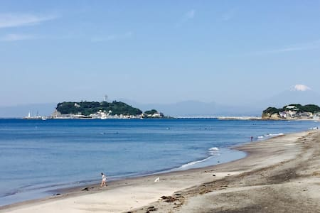 Kamakura Shichirigahama Train&Beach 1min walk #A-8 - Kamakura-shi - Haus