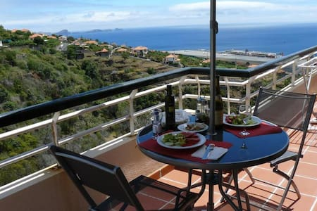 Cozy studio Santa-Cruz | Sea & Montain view - Piso Inteiro