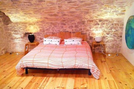 Maison atypique du 11e siècle - Logrian-Florian - Appartement