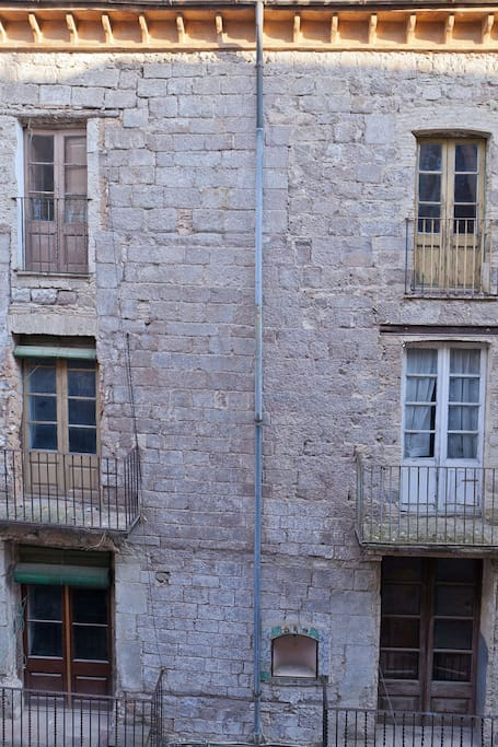 Fachada Norte del Palacio