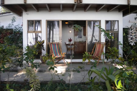 Peace and quiet, romance and solitude all just outside your door.  Step outside your comfortably and completely furnished apartment right onto a beautiful, pristine and gentle beach.