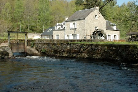 Le Moulin de Crottefou, Morvan - Haus