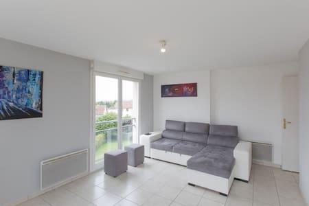 Chambre proche gare/pompidou/centre ville - Metz - Condominium