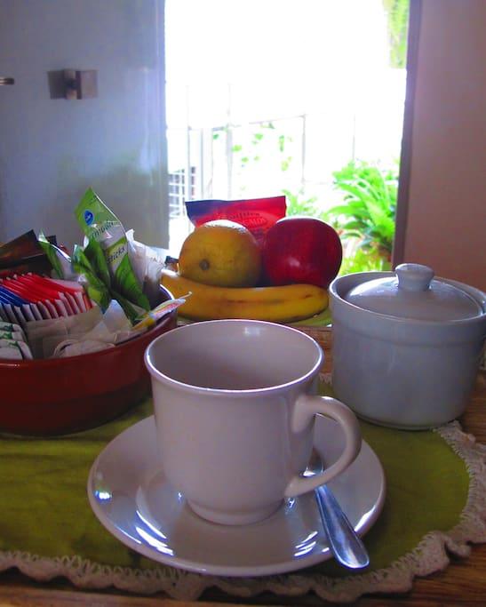 Comenzar el día con un buen desayuno¡