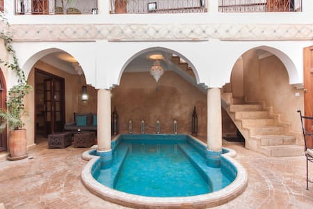 Lovely Riad privatisé pool&WIFI - Casa