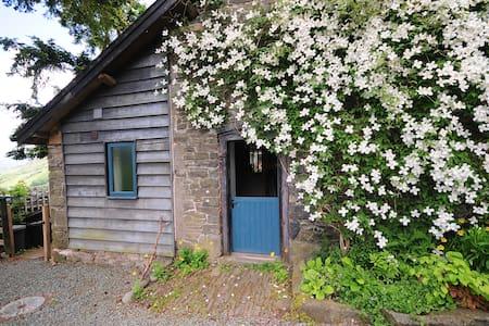 Barn - stunning hillside Mid Wales - Casa
