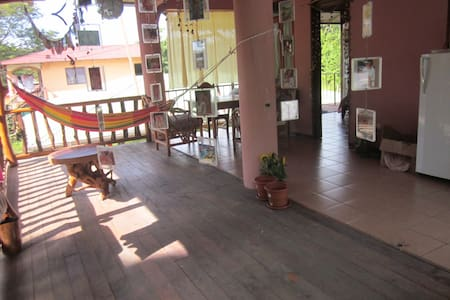Private room in an apartment house of 3 apartments, in a quiet neighboorhood but close to center of town and the beach.