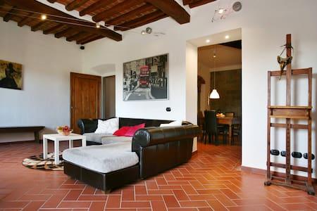 Lux Apartm Chianti Hill on Florence - San Casciano in Val di pesa - Wohnung