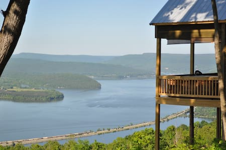 wow view 25 miles from chattanooga - Cabane