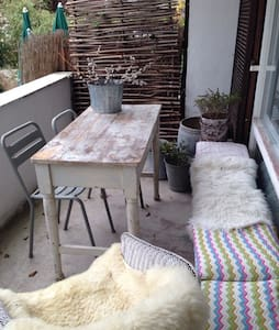 The apartment is situated in a small village on   beautiful Starnberger See  (walking distance 10 mins to the lake) close to Munich center (25 mins driving by car or 30 mins S Bahn plus short local bus trip) It has a nice sunny Veranda and garden.