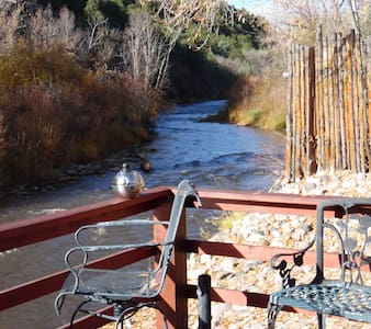On the Pecos River in Pecos New Mexico - House