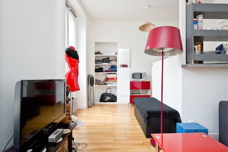Cozy Studio Next to République/Canal St Martin. - Paris - Apartment