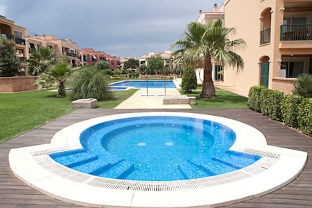 Near the sea, 3 pools,jacuzzi, golf - Llucmajor - Apartment