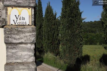 Apartment in historic Villa -Verona - Apartemen