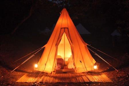 Bluey's Beach Glamping - Tipi - Kızılderili Çadırı