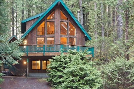 Georgous Mountain Lodge near Mt Baker w/ Hot Tub - House