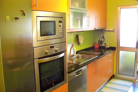 Best fully furnished beach apartment! 5 min beach! - Daire