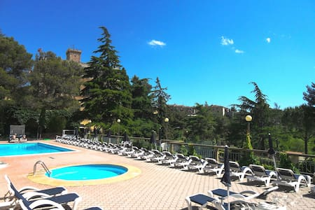 Apartment with swimmingpool, garden - Guardistallo