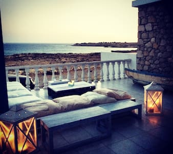 Stone villa on private beach - Villa