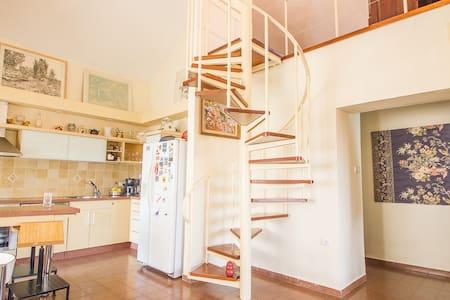Classic Jerusalem style loft. - Jerusalem