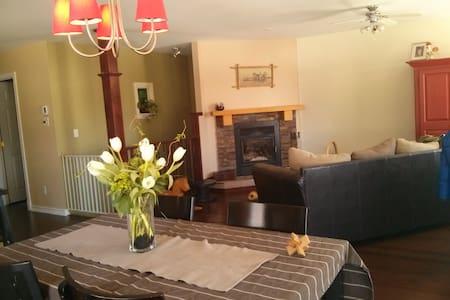 maison chaleureuse en nature  - Ház