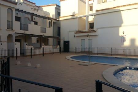 Apartamento bungalow nuevo con piscina comunitaria - San Pedro del Pinatar - Bungalow