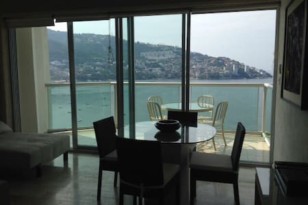 Beach front Apt. in Acapulco Bay! - Appartement