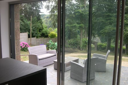 Morlaix, chambres dans cadre calme et verdoyant... - Morlaix - House